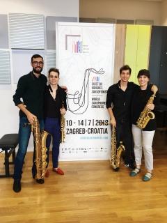 Cuarteto IbSud, Zagreb 2018