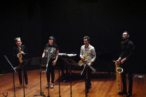 Cuarteto Ibsud en Ginebra, diciembre 2019