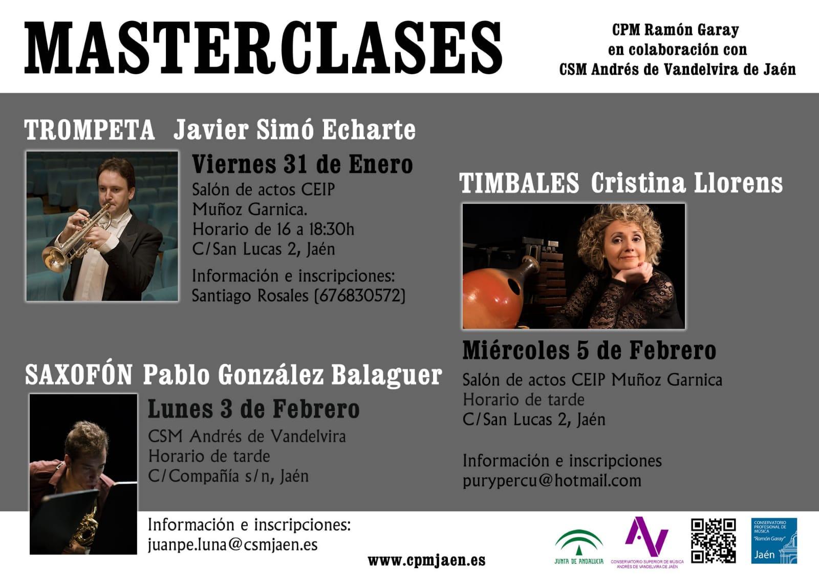 Master class en Jaén