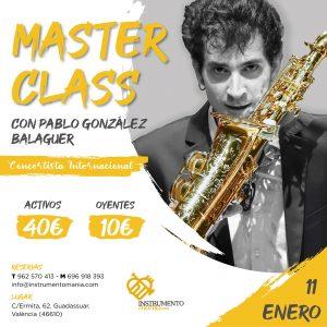 Master class en Instrumentomanía